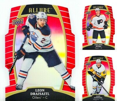 2019-20 UD Allure Red Rainbow **** PICK YOUR CARD **** From The LIST