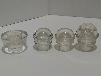 4 VINTAGE COFFEE PERCOLATOR POT GLASS TOPS/KNOBS ANTIQUE Replacement Handle