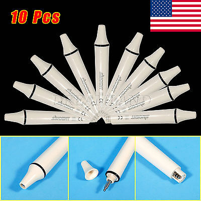 10X Dental Piezo Ultrasonic Scaler Handpiece F/ EMS WOODPECKER USA STOCK SH-L