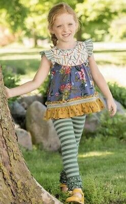 NEW girls Matilda Jane Choose your own path  Let It Snow Tights size 4-6 NWT