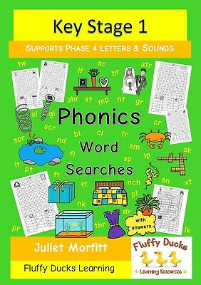Phonics Word Searches Phase 4 Letters and Sounds Fun Learning Kids