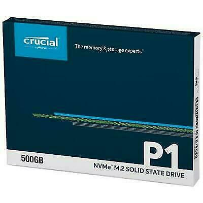 Crucial CT500P1SSD8 SATA M.2 500GB Internal SSD