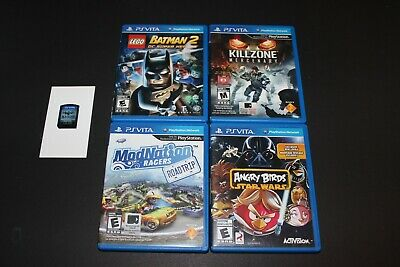 Lot of PS Vita games - Tested