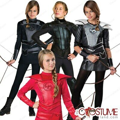 Incharacter Midnight Huntress Cosplay Katniss Halloween Costume Tween 18071