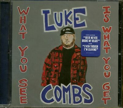Luke Combs - What You See Is What You Get (CD) - Charts/Contemporary Country