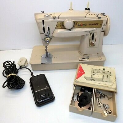 Singer 411G Electric Sewing Machine - Heavy Duty Home Machine