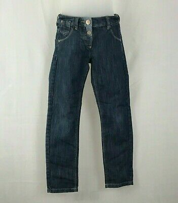 Next Kids Unisex Boys Girls Blue Jeans Trousers Adjustable Waist Age 8 Years