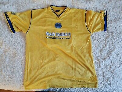 Iron Maiden Football Shirt -- Somewhere back in time 2008 XL -- RARE
