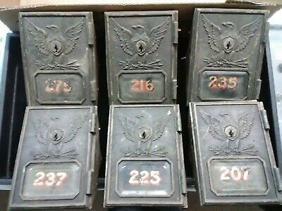 Vintage Post Office Box Door Mail Box Door Postal Door Post Office Door Lockbox
