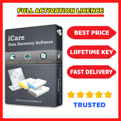 iCare Data Recovery Pro 8.2 🔑 License key ⭐ Fast Dilevery