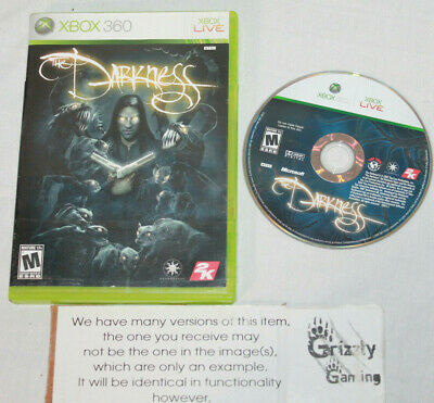 USED The Darkness Microsoft XBOX 360 -Canadian Seller-