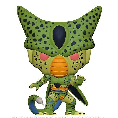 Funko Pop! Perfect Cell GITD ECCC SHARED Exclusive DBZ Preorder + Protector