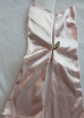 Vintage Alfred Angelo Pink Fingerless Long  Gloves NEW - One Size Fits All