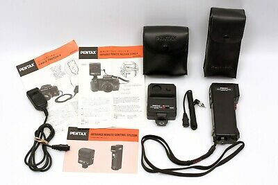 PENTAX LX REMOTE CONTROL SYSTEM (Transmitter + Receiver) + CASES/Cords