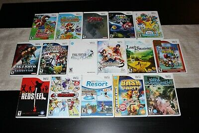 Collection of Nintendo Wii Games - Complete & Tested