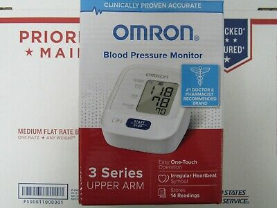 OMRON Upper Arm Blood Pressure Monitor 3 Series BP7100 New In The Box