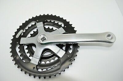 Cyclone MTB triple crankset with bottom bracket and Chain Disc