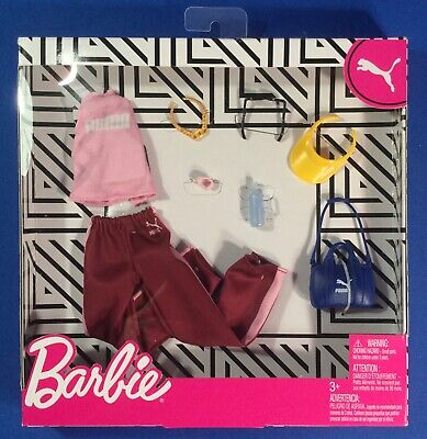 New 2020 Barbie Fashion Packs Clothes Puma Outfit & Accessories