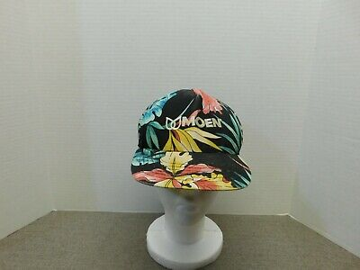 Vintage Moen Floral Snapback Hat Made In The USA
