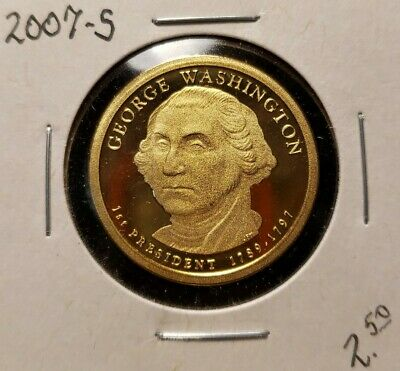 2007 P D S James Madison Presidential Dollars Proof /& BU Flat Rate Shipping