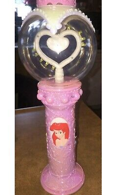 DISNEY PRINCESS WAND LIGHT UP SPINNING CHASER Theme Park Souvenir toy HTF