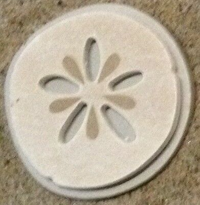Beach Sand Dollar, plastic mold, concrete mold, cement, plaster,