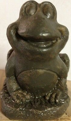 Frog Small Latex Only Concrete Mold, cement, plaste