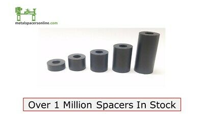 """New Aluminum Spacer Bushing 7//16/"""" OD x 1//4/"""" ID--Fits M6 or 1//4/"""" Bolts"""
