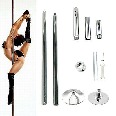 Portable Stainless Steel Dance Pole 45mm for Fitness Dancing Spin Exercise