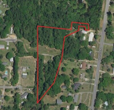 3+ Acre Lot: Vacant Land *Zoned Residential* in Pensacola, Florida Panhandle