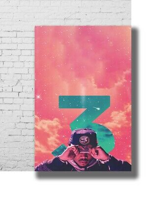 Z-1166 Hot Chance the Rapper Famose Hot Music 8x12inch Poster Print