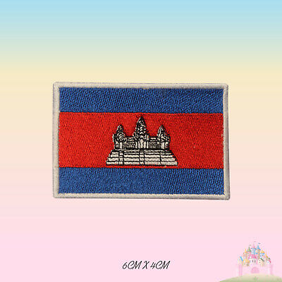 SURINAME FLAG PATCH Embroidered Badge Iron or Sew on 3.8cm x 6cm South America