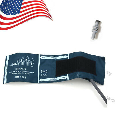 US ship NIBP infant cuff,Reusable,Single Tube,10-19cm for blood pressure monitor