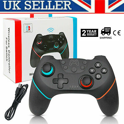 Wireless Pro Gamepad Joypad Remote Controller for NS Nintendo Switch Console @