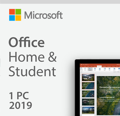 Microsoft Office 2019 Home and Student (1 User) for PC/ Windows 10