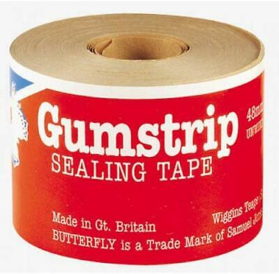Butterfly Gumstrip Sealing Tape - Pack of 10