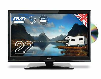 """Cello C2223F Traveller 22"""" HD Ready LED TV with Built-in DVD Player"""