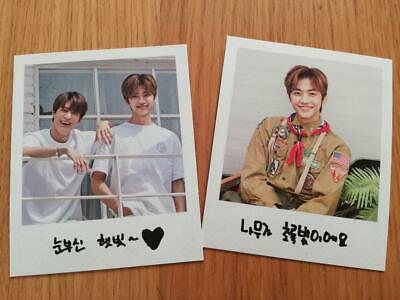 NCT Dream Summer Vacation JAEMIN JENO Official Limited Photo Card Set Music KPOP