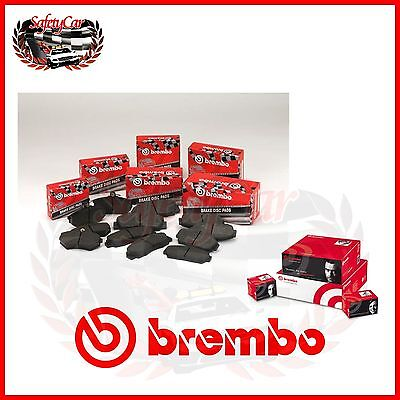 Set Beläge Bremse Hinten Brembo P50038 Intelligent Fortwo Cabrio 450 01/04 -