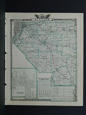 Map of St. Clair County, Illinois/ Washington County L26 #99