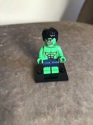 Genuine Lego Super Hero Mini Figure - THE INCREDIBLE HULK