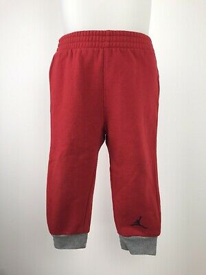 Nike Jordan Baby Boys or Girls Red Tracksuit Jogger Bottoms Size Age 24 Months