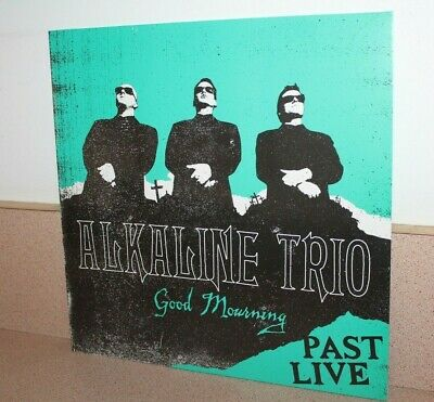 Alkaline Trio Good Morning Past Live NEW SEALED turquoise color vinyl LP