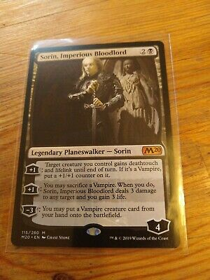 IMPERIOUS BLOODLORD Core Set 2020 M20 Planeswalker Magic MTG MINT CARD SORIN