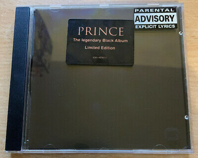 PRINCE SIGILLATO Ltd Ed MINT THE LEGENDARY BLACK ALBUM MUSICASSETTA