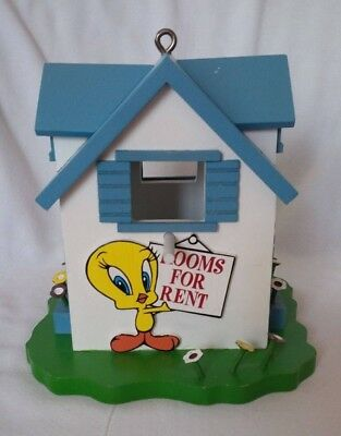 "Warner Bros Studio Store Exclusive TWEETY BIRD ""Rooms For Rent"" Bird House"