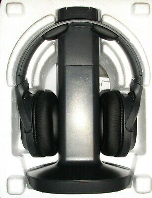 Sony WH-RF400 Wireless Home Theater Headphones, Black