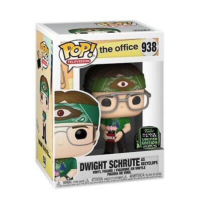 Funko Pop! Dwight Schrute ECCC Shared Exclusive The Office Preorder + Protector