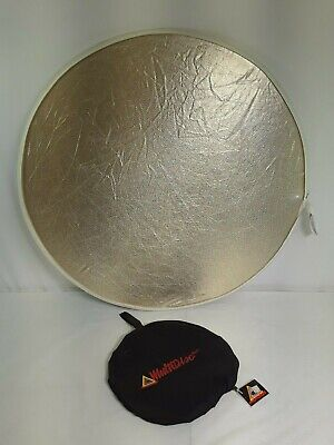"Genuine Photoflex Multidisc 5-in-1 32"" Collapsible Reflector #6561"