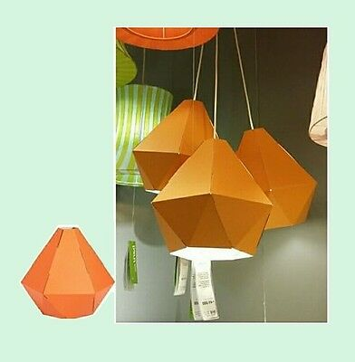 """Ikea Strala Paper Star Hanging Pendant Lamp Shade 18.8/"""" Red Dot Multiple Avail"""